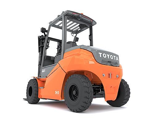 Toyota Traigo HT – 9FBM60T – 9FBM70T – 9FBM80T – 9FBM90T